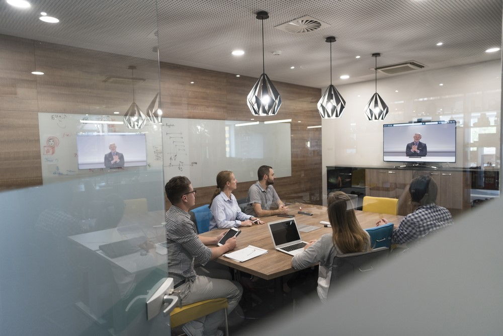 video conference of excel consulting meeting