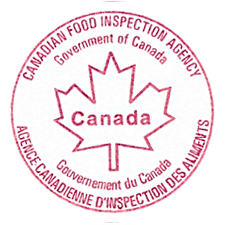 Canadian Food Inspection Agency Client Logo