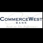 Commerce West Bank logo, a long-term repeat client.