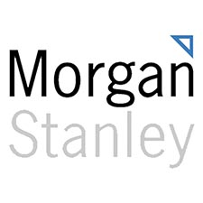Morgan Stanley is one of our financial services clients